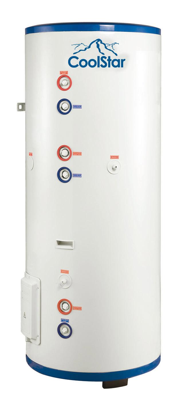 Unterschiedlich CoolStar Wassertank 300 l WTT300 • Einfach Split - Wärmepumpe  GR72